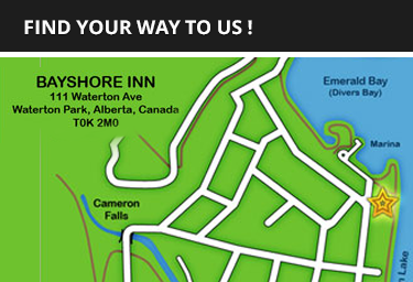 Bayshore Inn Location