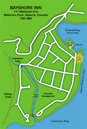 Bayshoreinn Location Map