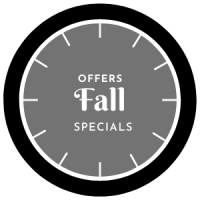 Fall Specials Offers